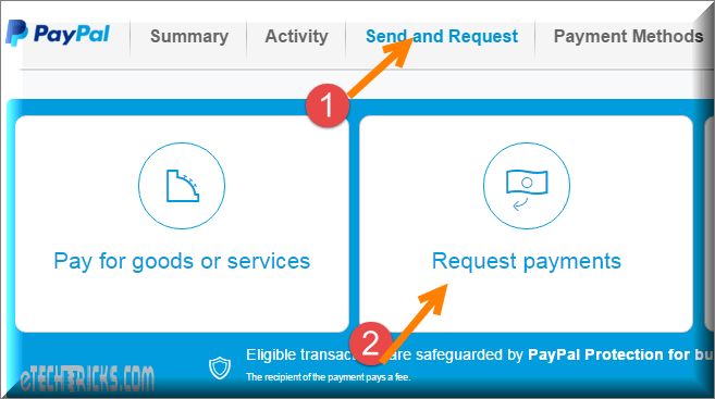 transfer money from bank credit card to paypal